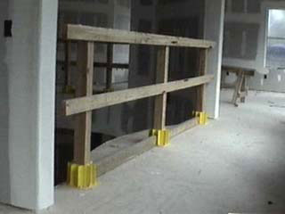 Safety Boot® Guardrail System Residential Applications