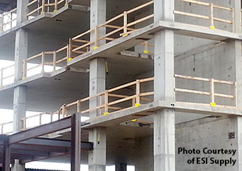 Safety Boot® Guardrail System Commercial Applications
